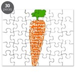Welsh word for carrot - Moron Puzzle