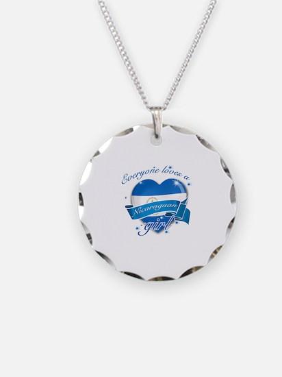 I heart Nicaraguan Designs Necklace