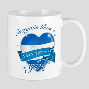 I heart Nicaraguan Designs Mug
