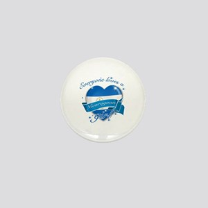 I heart Nicaraguan Designs Mini Button