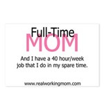 Full-Time Mom Postcards (Package of 8)