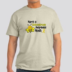 Endo Awareness Month Bee 3 Light T-Shirt
