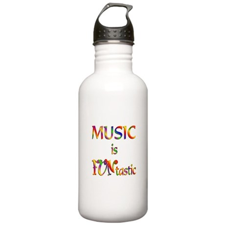 FUNtastic Music Stainless Water Bottle 1.0L