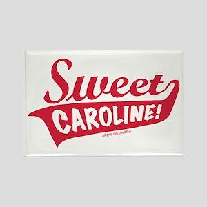 Sweet Caroline Boston Rectangle Magnet