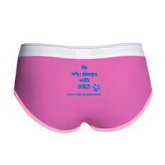 He sleeps with DOGS Women's Boy Brief