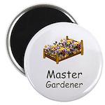 """Master Gardener 2.25"""" Magnet (10 pack)"""
