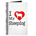 I Love My Bearded Collie Journal