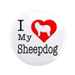 I Love My Bearded Collie 3.5