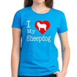 I Love My Bearded Collie Women's Dark T-Shirt