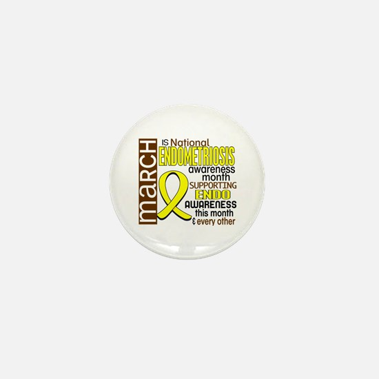 Endo Awareness Month I2 6 Mini Button