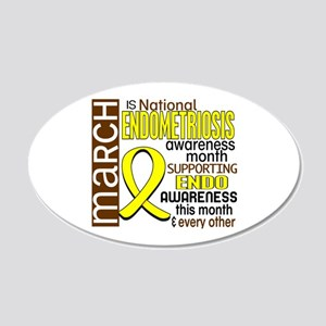 Endo Awareness Month I2 6 22x14 Oval Wall Peel