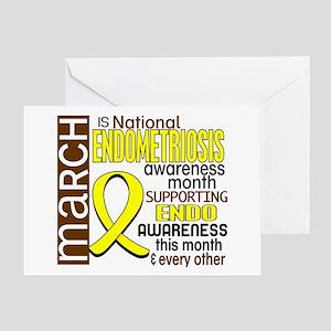 Endo Awareness Month I2 6 Greeting Card