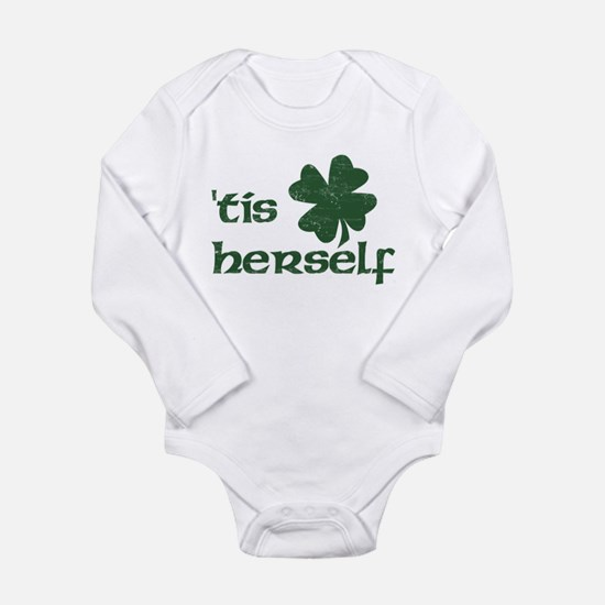 Cute Kiss me Long Sleeve Infant Bodysuit