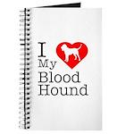 I Love My Bloodhound Journal
