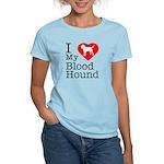 I Love My Bloodhound Women's Light T-Shirt