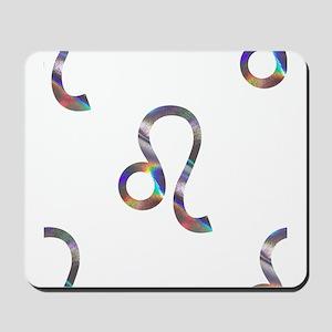 hologram leo Mousepad
