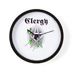 Clergy Wall Clock