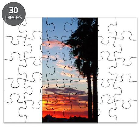 Desert Sunset Puzzle