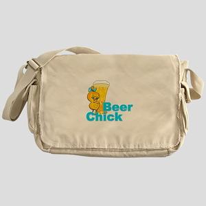 Beer Chick #2 Messenger Bag