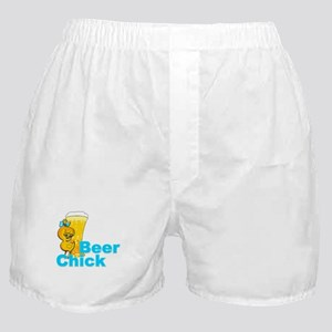 Beer Chick #2 Boxer Shorts
