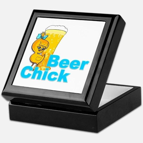 Beer Chick #2 Keepsake Box