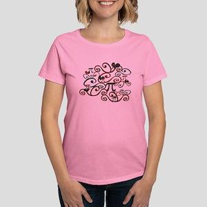 Whimsy Math Pi Women's Dark T-Shirt
