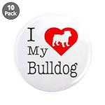 I Love My Bulldog 3.5