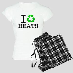 I Recycle Beats Women's Light Pajamas