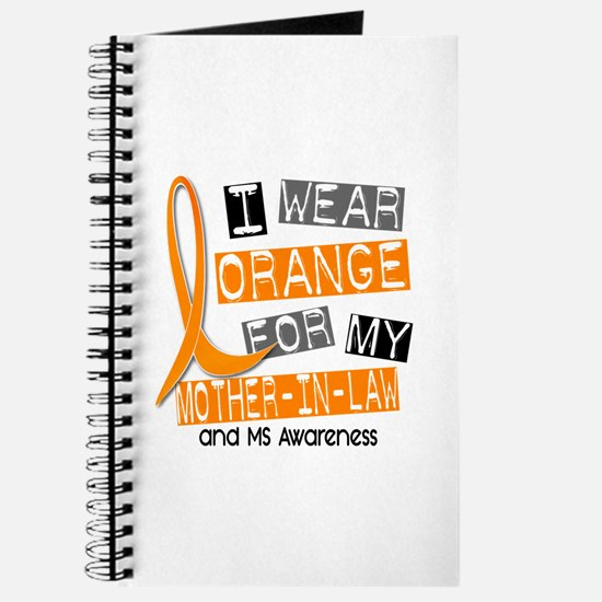 I Wear Orange 37 MS Journal