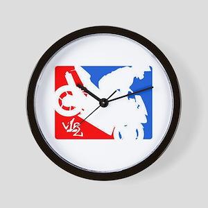 V1R Logo Wall Clock