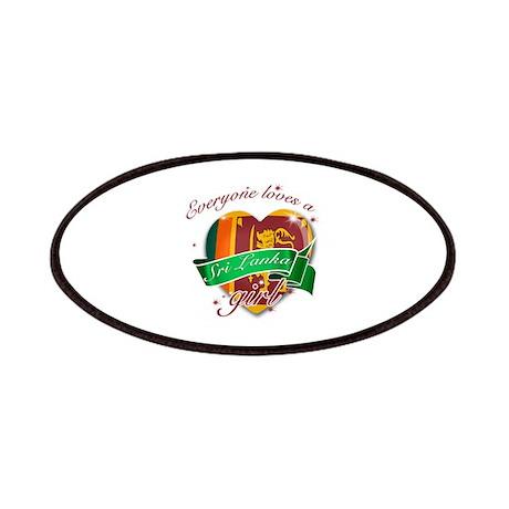 I heart Sri Lankan Designs Patches