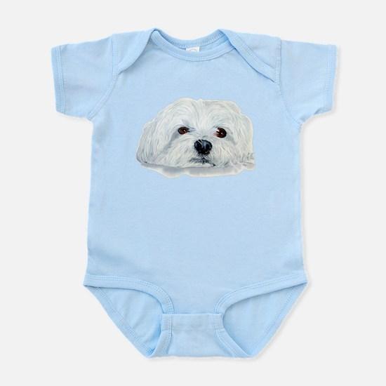 Bogart the Maltese Infant Bodysuit
