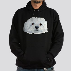 Bogart the Maltese Hoodie (dark)