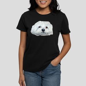Bogart the Maltese Women's Dark T-Shirt