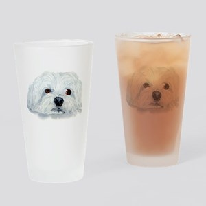 Bogart the Maltese Drinking Glass