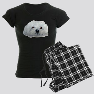 Bogart the Maltese Women's Dark Pajamas