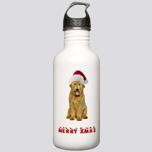 Goldendoodle Christmas Stainless Water Bottle 1.0L