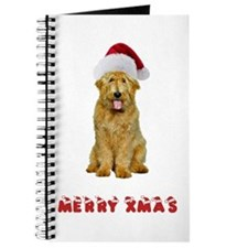 Goldendoodle Christmas Journal