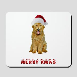 Goldendoodle Christmas Mousepad