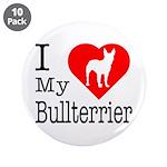 I Love My Bullterrier 3.5