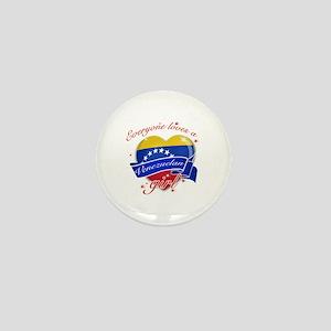 I heart Venezuelan Designs Mini Button