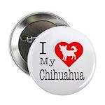 I Love My Chihuahua 2.25