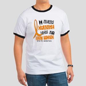 I Wear Orange 37 MS Ringer T