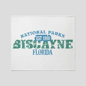 Biscayne National Park FL Throw Blanket