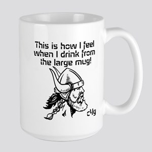 This is how I feel - Large Mug