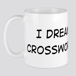 Dream about: Crossword Puzzle Mug