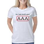 AAA White Women's Classic T-Shirt