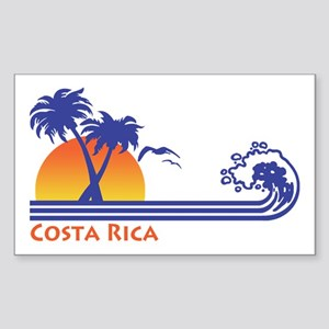 Costa Rica Sticker (Rectangle)
