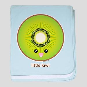 Kawaii Kiwi baby blanket