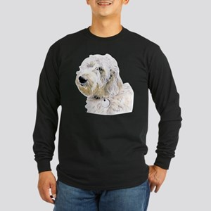 Butters the Labradoodle Long Sleeve Dark T-Shirt